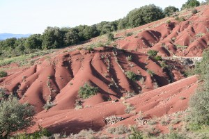 Le Salagou : Pays des ruffes