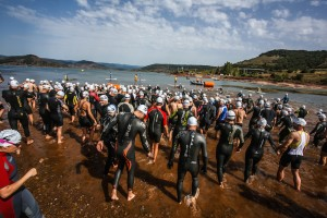 Triathlon du Salagou - Natation S Cross