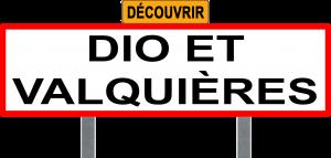 Panneau Dio & Valquières
